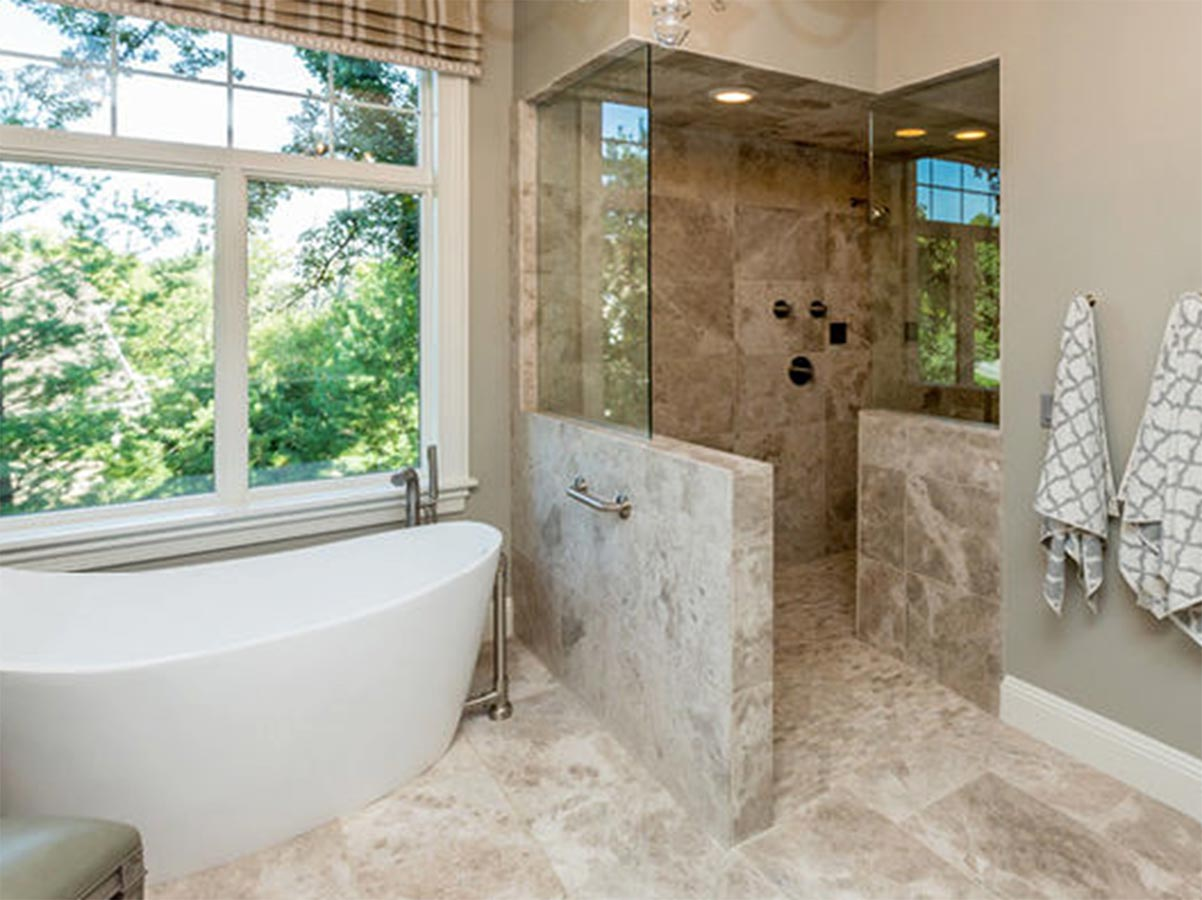 Open Showers