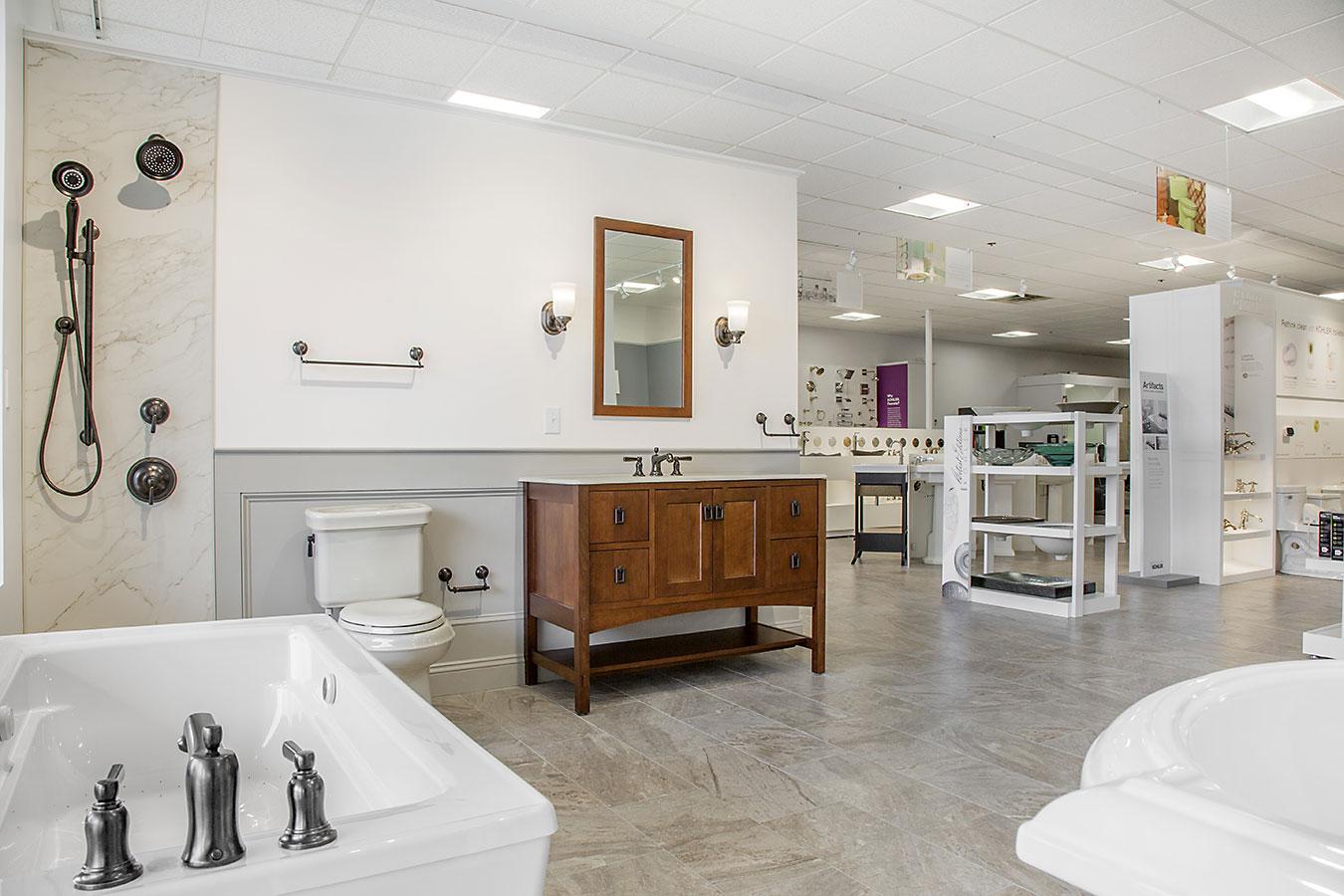 Gentil Showroom Gallery. The Inspired Bath